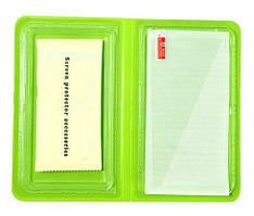 Переднее защитное стекло на iPhone 5, 5S . В противоударной упаковке.