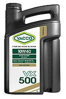 Моторное масло YACCO VX 500 10W40(5L)