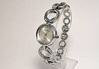 Часы женские Alberto Kavalli серебристый браслет и циферблат