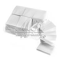Салфетки безворсовые  6х7, 900 шт в уп. (тканевые)
