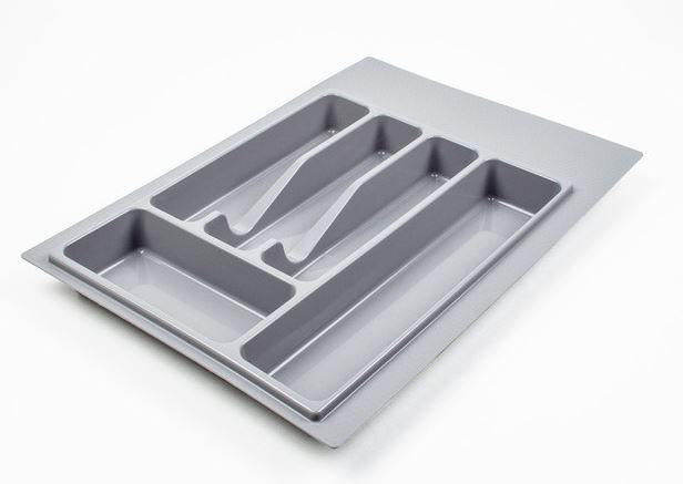 Лоток для вилок, ложек Volpato кухонный серый 470 мм