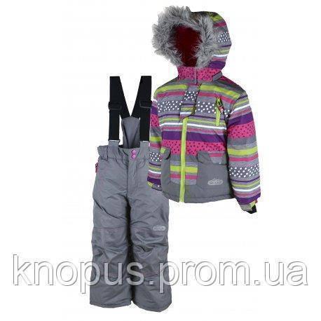 "Зимний термокомбинезон  ""Снежок""для девочек,PIDILIDI  Ski tour 104"