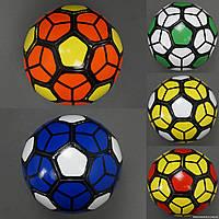 Мяч футбольный 772-622 (100) PVC, вес 270-280 грамм, 5 видов