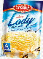 Суміш для приготування морозива Ваніль 60г CYKORIA (1/25)