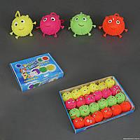 Мяч-прыгун 772-210 (24) /ЦЕНА ЗА БЛОК/ свет, 24шт в блоке, 4 цвета, d=8см