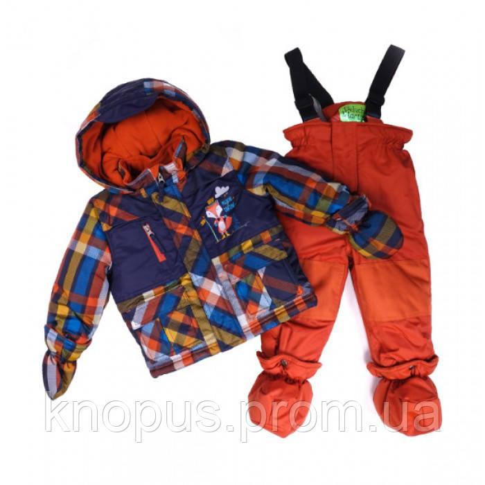 Зимний термокомплект для девочки BABY Peluche&Tartine 03 BG M F16 Burn Orange