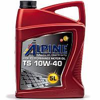 Alpine TS 10W-40 (API SL/CF) полусинтетическое моторное масло, 5 л (0100082)