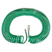 Шланг спиральный полиуретановый 20м 5.5×8мм Refine (7012091)