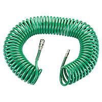 Шланг спиральный полиуретановый 15м 6.5×10мм Refine (7012181)
