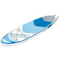 Надувная доска SUP-борд Bestway 65304 с веслом и насосом (305-84-15см)