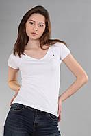 Женская футболка Th 85 белого цвета