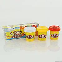 Тесто для лепки 6603-3 (96) 150 г, 3 цвета, в коробке
