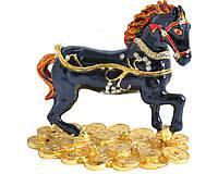 Шкатулка ювелирная Черная Лошадь