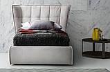 Итальянская современная кровать в ткани ASPEN фабрика LeComfort, фото 6