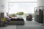 Итальянская современная кровать в ткани ASPEN фабрика LeComfort, фото 2