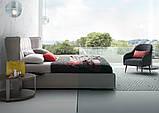 Итальянская современная кровать в ткани ASPEN фабрика LeComfort, фото 8
