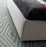 Итальянская современная кровать в ткани ASPEN фабрика LeComfort, фото 9