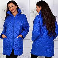 Женская удлинённая куртка / стёганное пальто от производителя, фото 1