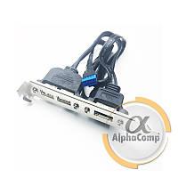 Планка задняя в системный блок USB 2.0  (2 порта)+eSATA