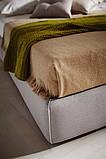 Итальянская современная кровать в ткани ACADEMY фабрика LeComfort, фото 2