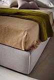 Итальянская современная кровать в ткани ACADEMY фабрика LeComfort, фото 3
