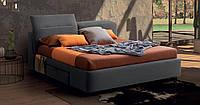 Итальянская современная кровать с выдвижными ящиками APOLLO фабрика LeComfort