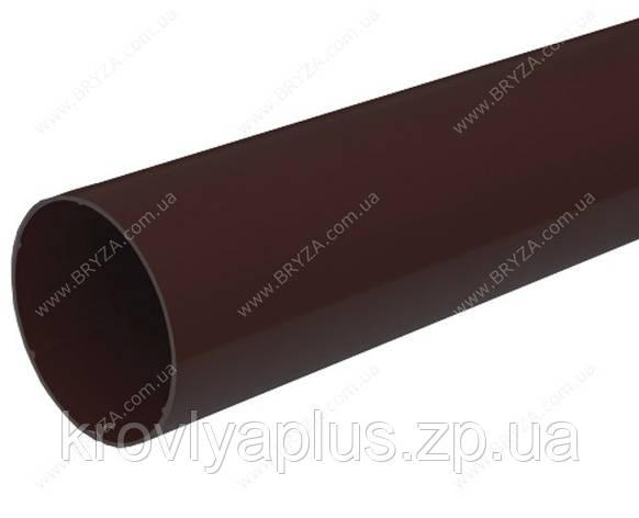 Водосточная сисиема BRYZA 125 Труба 90 коричневый, фото 2