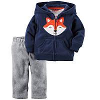 Флисовый комплект 2 в 1 для мальчика Fox Jumping Beans, фото 1