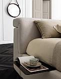 Итальянская мягкая кровать с подъемным изголовьем TOWER фабрика LeComfort, фото 5