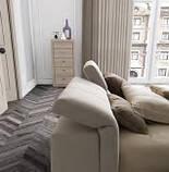 Итальянская мягкая кровать с подъемным изголовьем TOWER фабрика LeComfort, фото 4