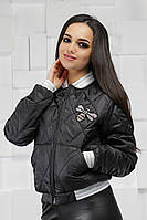 Женская осенняя куртка бомбер от производителя