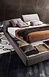 Итальянская мягкая кровать с подъемным изголовьем TOWER фабрика LeComfort, фото 9