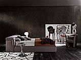 Итальянская мягкая кровать с подъемным изголовьем TOWER фабрика LeComfort, фото 2