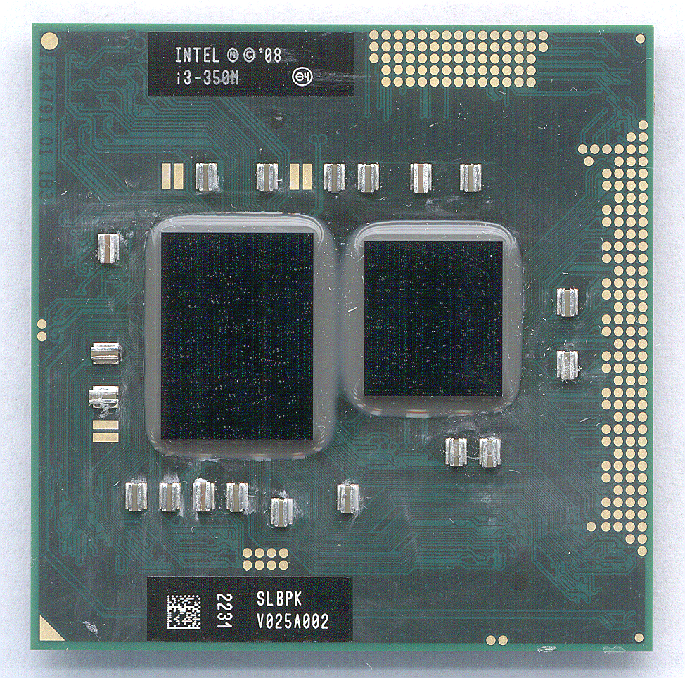 Процессор Intel Core i3-350M (3M Cache, 2.26 GHz)