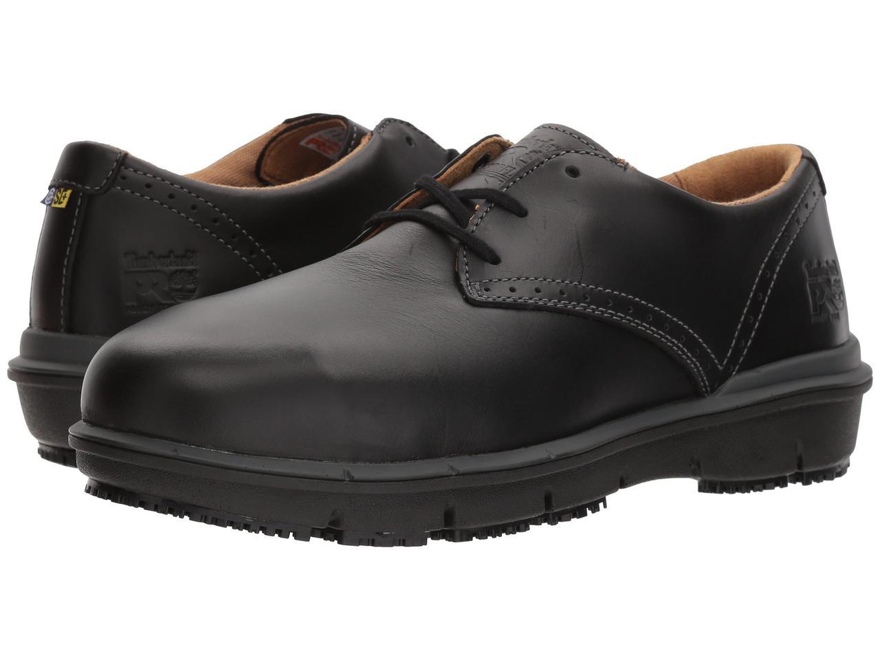 Туфли (Оригинал) Timberland PRO Boldon Oxford Alloy Safety Toe SD Black Full Grain Leather