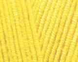 Детская пряжа Alize Cotton Baby Soft 113 (Ализе Котон Беби Софт) желтый