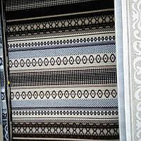 Ковёр Daffi коричневый орнамент 2х3 м