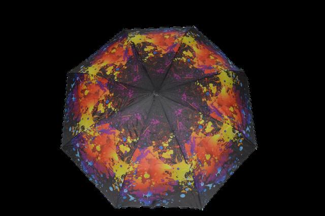 Зонтик женский радужный полуавтомат (4833) фото 1