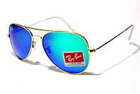 Солнцезащитные очки Рей Бен Aviator Стекло 3025 B10 SM (реплика)
