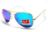 Солнцезащитные очки Рей Бен Aviator Стекло 3025 B11 SM  (реплика)