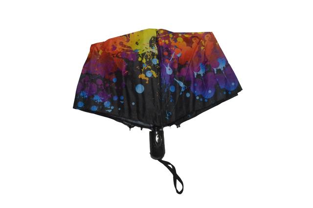 Зонтик женский радужный полуавтомат (4833) фото 2