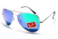 Солнцезащитные очки Рей Бен Aviator Стекло 3025 B15 SM  (реплика)