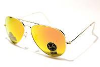 Солнцезащитные очки Рей Бен Aviator Стекло 3025 B7 SM (реплика)