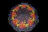 Зонтик женский радужный полуавтомат (4833)