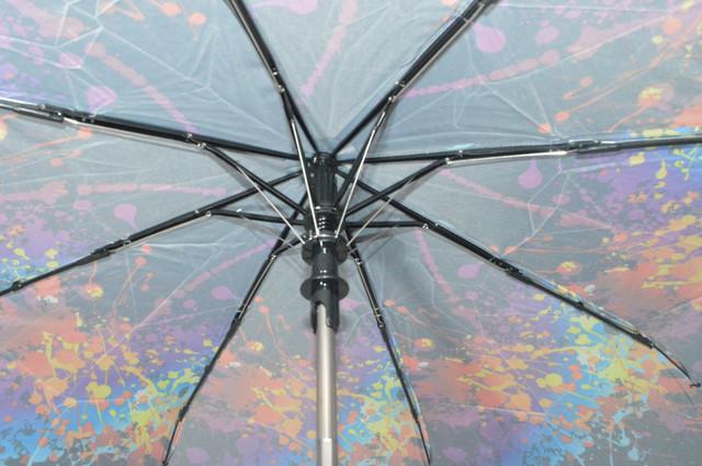 Зонтик женский радужный полуавтомат (4833) фото 4
