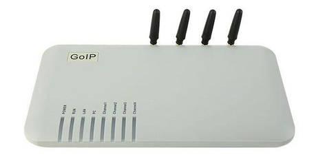 GSM шлюз GoIP4, фото 2