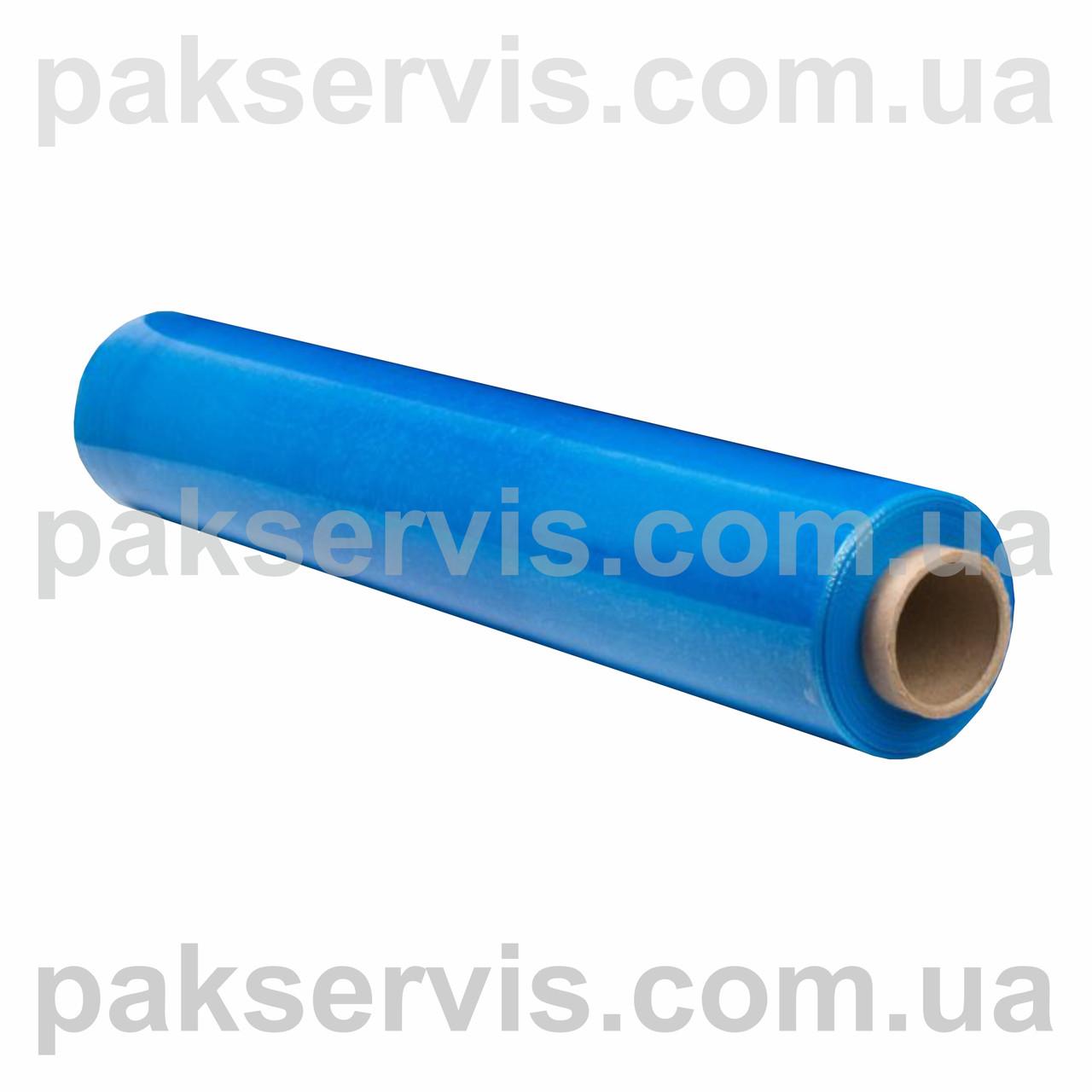 Пленка стрейч паллетная синяя(не прозрачная) 50см/200м Польша (20мкн)