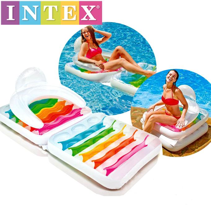 Матрас-кресло Intex 198*94 см