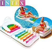 Матрас-кресло Intex 198*94 см (6 шт/уп)