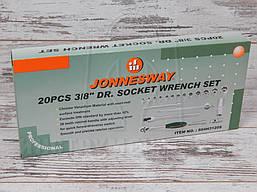 """Набор инструмента JONNESWAY S04H3120S 3/8"""" (20 предметов), фото 2"""